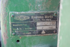 Knohoma BS 4 /610